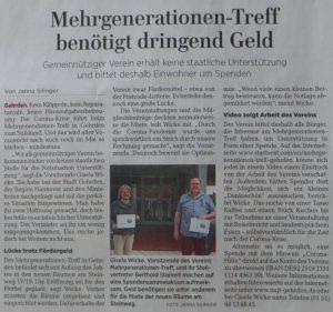 Calenberger Zeitung vom 02.05.2020